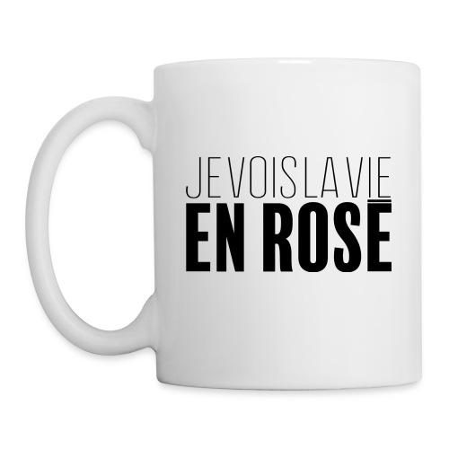 La vie en rosé - Mug blanc