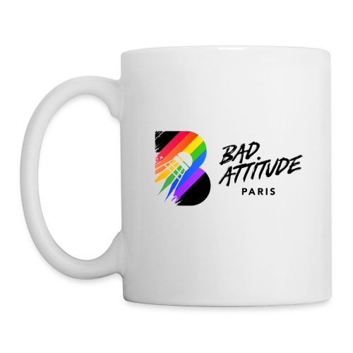 New Logo de BAd Attitude - Mug blanc
