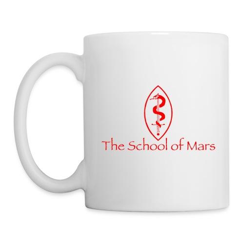 SoM Crest (Red) w/ Text - Mug