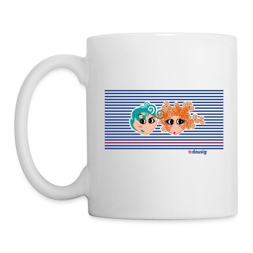 Mariniere bleue - Mug blanc