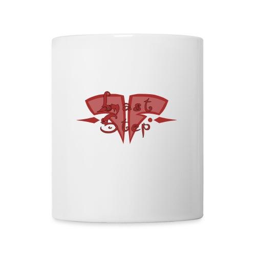 red last step logo - Mug blanc