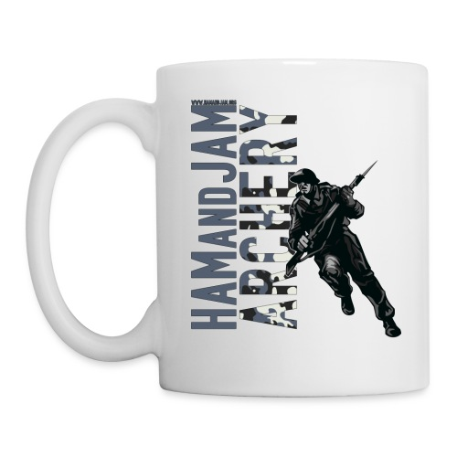 haj tee archery2 - Mug