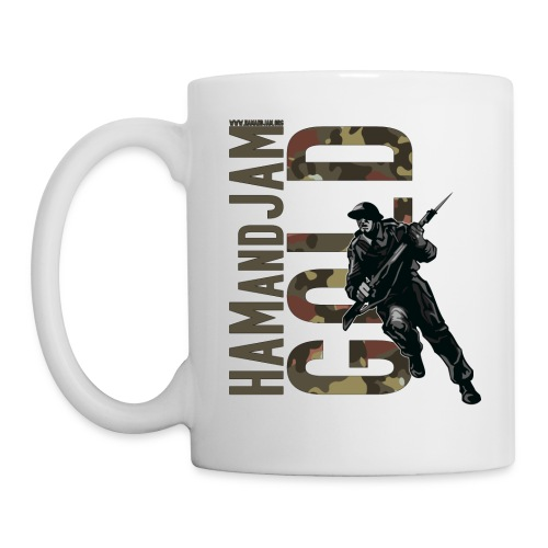 haj tee gold2 - Mug