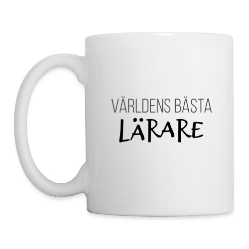 VÄRLDENS BÄSTA LÄRARE - Mugg