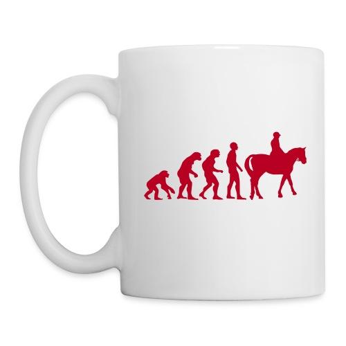 EVOLUTION HORSE - Mug blanc