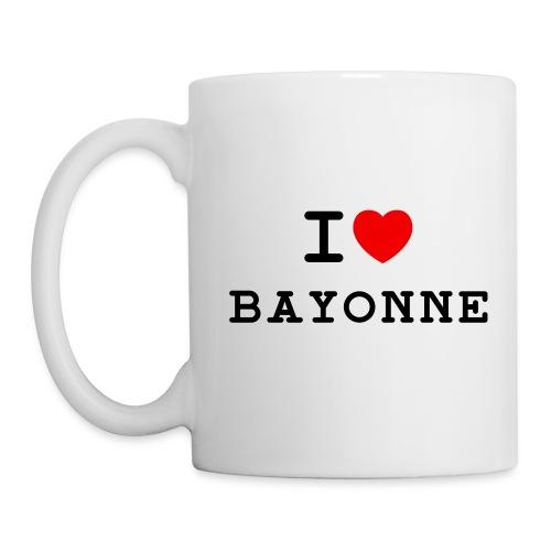 ilovebayonne - Mug blanc