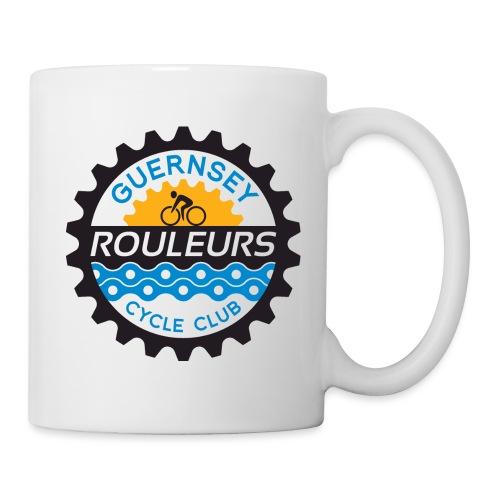 Guernsey Rouleurs Logo - Mug