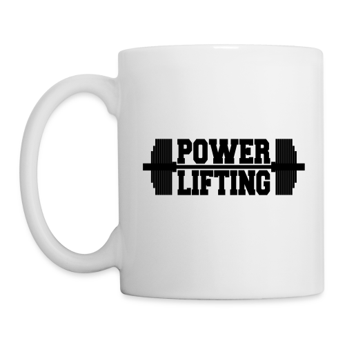 Powerlifting Langhantel - Tasse