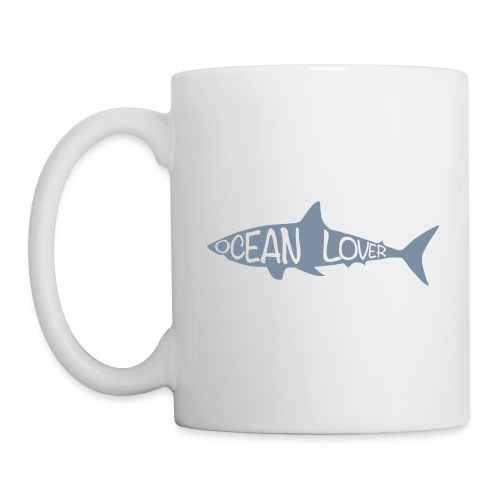 The Shark - Le Requin - Mug blanc