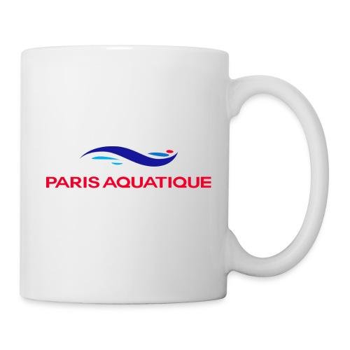logo quadri2 png - Mug blanc