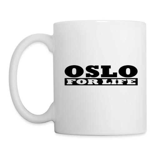 Oslo fürs Leben - Tasse