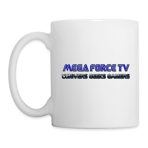 megaforcetv - Mug blanc