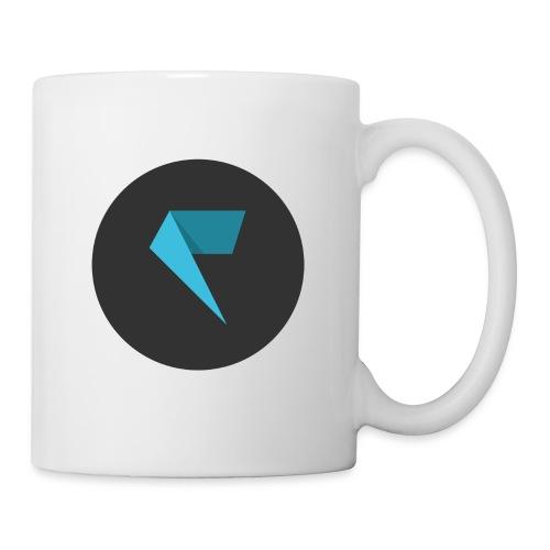 Logo Factornews com carré - Mug blanc
