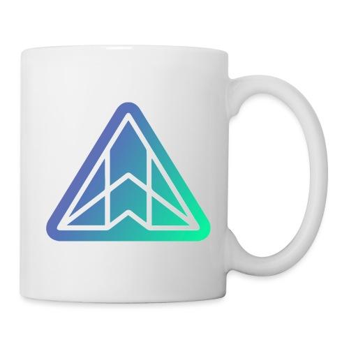 Logo - White on gradient - Mug