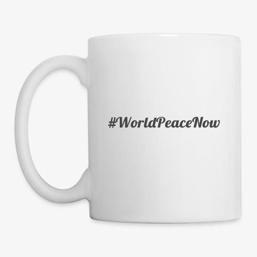 #WorldPeaceNow - Mug blanc