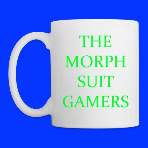 the morph suit gamers clothing etc 1 - Mug