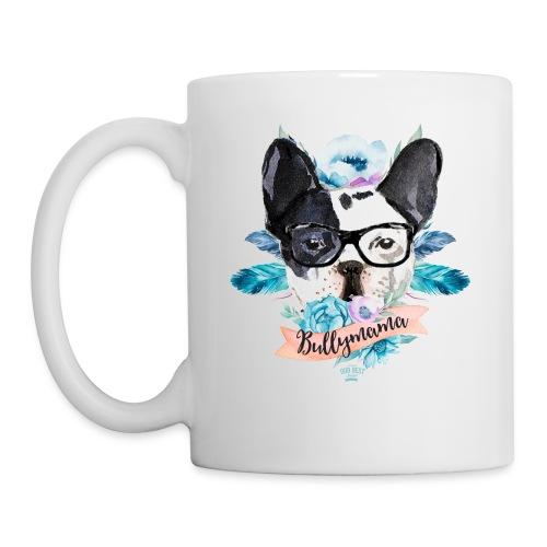 Bullymama Blumen - Französische Bulldogge - Tasse