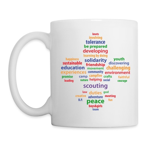 scouting is colored - Mug