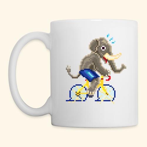 CYCLING ELEPHANT / ELEFANTE / ELEFANT - Tazza