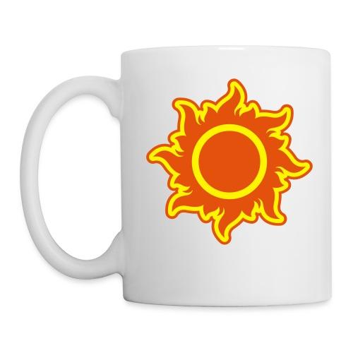 feurige Sonne sunshine Sommer summer Stern Star - Mug