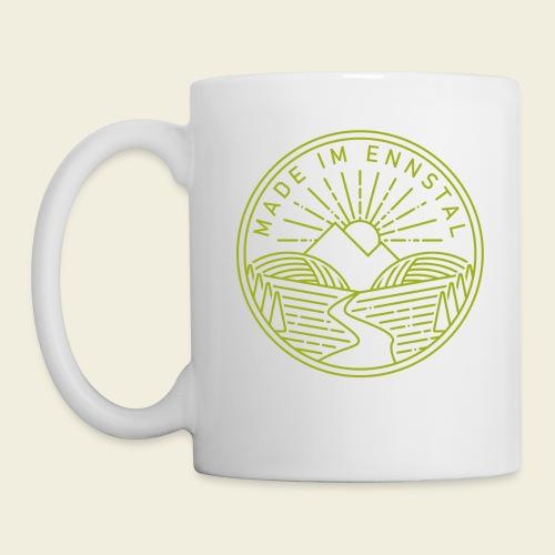 Made im Ennstal, grün - Tasse