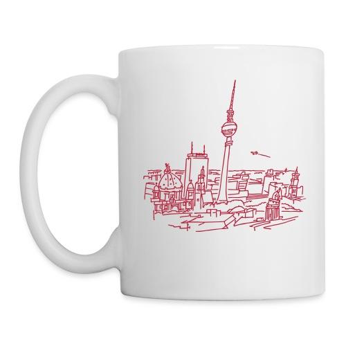 Le panorama de Berlin - Mug blanc