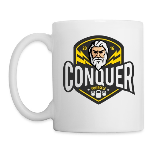 Conquer Yourself Clothing - Tasse