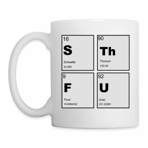 STFU Quadratisch - Tasse