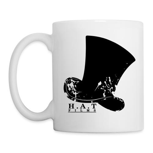 hat design 3 transparent splodges3 - Mug