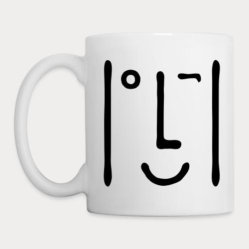 Bigtchiz Clindoeil CLDO - Mug blanc