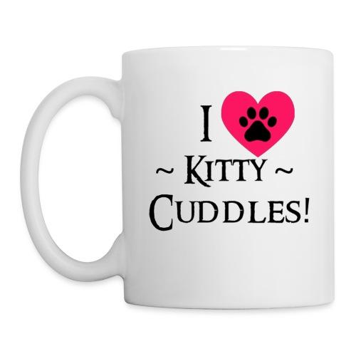 I LOVE Kitty Cuddles - Mug