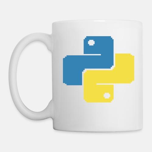 Python Pixelart - Mug
