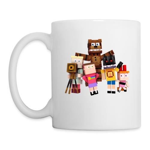 Withered Bonnie Productions - Meet The Gang - Mug