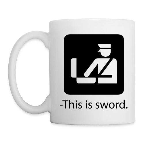 This is sword - Mugg