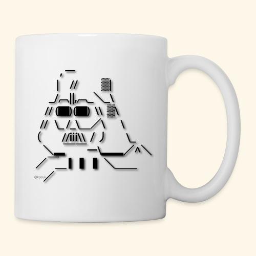 ASCII art Darth Vader - Text art - Mug