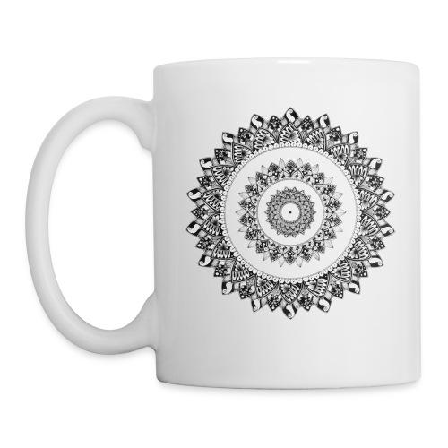Mandala Black&White - Tazza