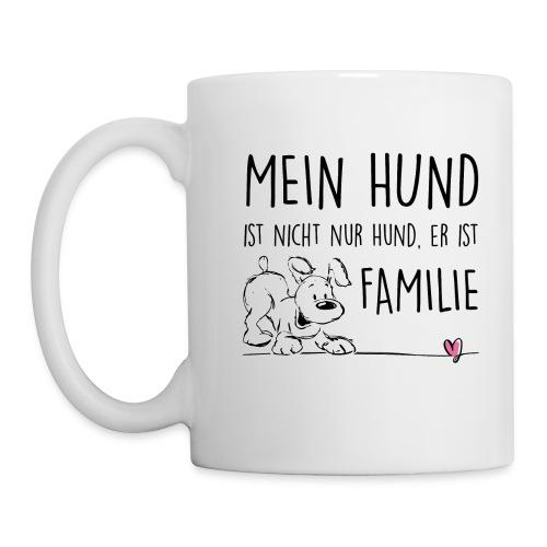 Vorschau: Mein Hund ist Familie - Tasse
