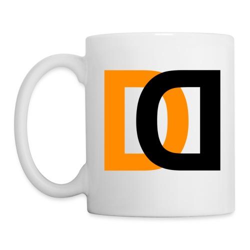Dutch Driveclub logo oranje zwart transparante ach - Mok