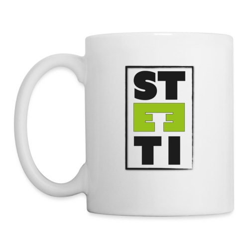Steeti logo - Mugg