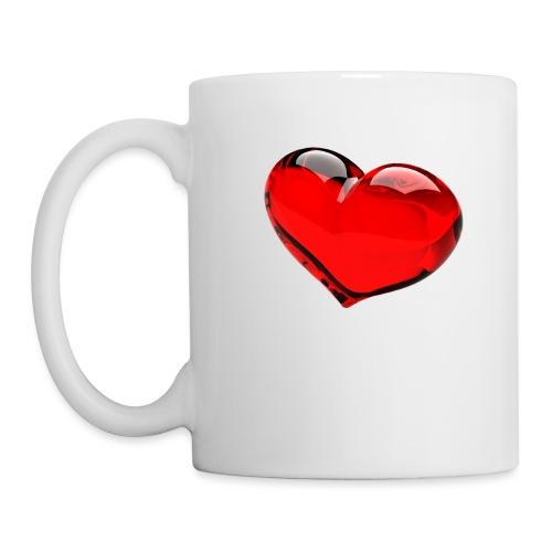 serce 3D - Kubek