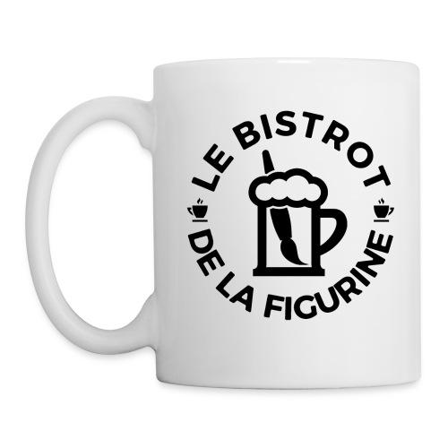 Logo noir classique - Mug blanc