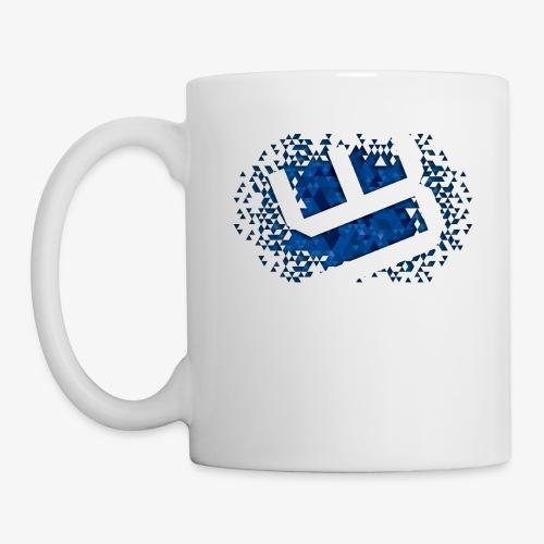 w4sted v2 logo blue - Mug