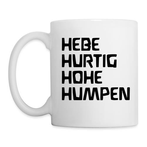 HEBE HURTIG HOHE HUMPEN - Tasse