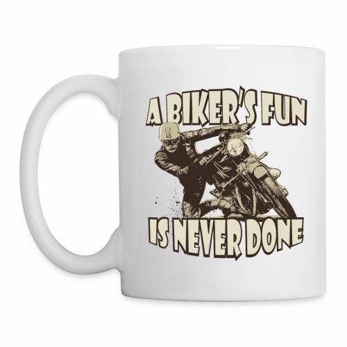 a bikers fun - Mug