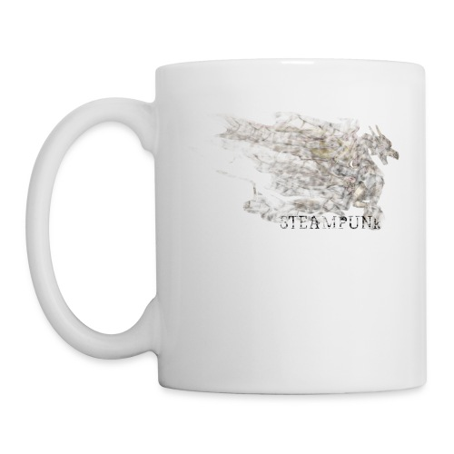 Steampunk Dragon - Taza
