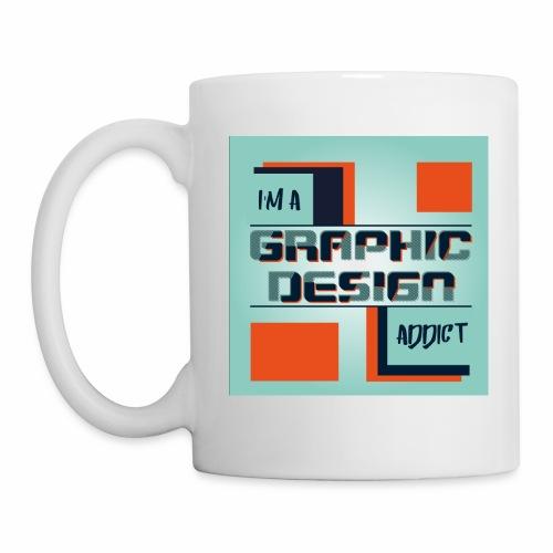 I'm a graphic design addict - Mug