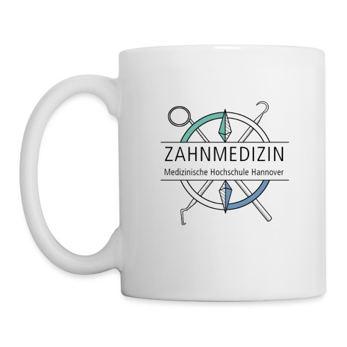 Zahnmedizin Hannover (schwarz) - Tasse