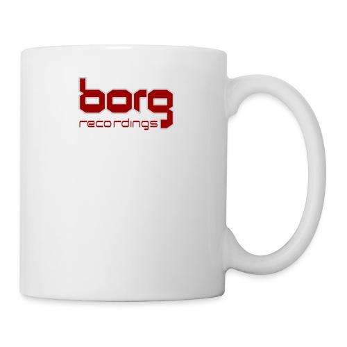 borg txt logo red - Mug