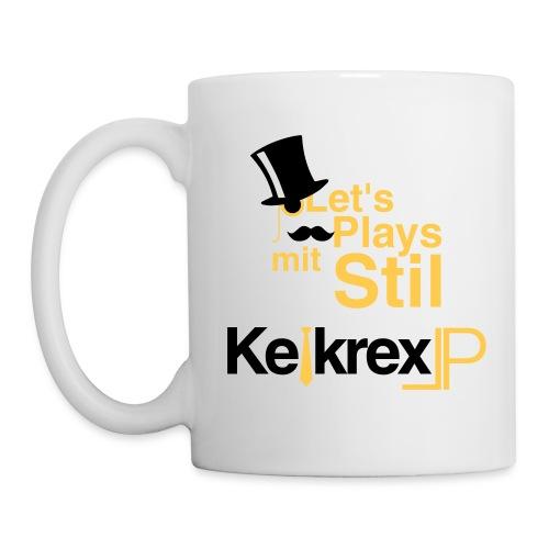 KelkrexLP Let s Plays mit Stil schwarz - Tasse