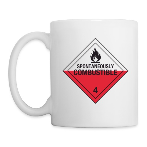 Spontaneously Combustible - Mug